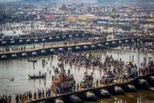 Ponton Bridges in India - Ponton Brücken in Indien