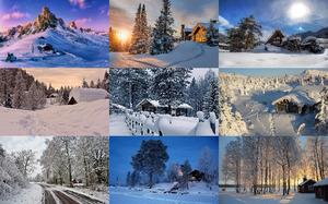 Winter Houses - Winterhäuser