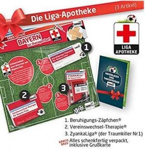 Lakritz-Zäpfchen für FCB-Fans zur Einnahme...