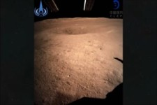 First Photos China Lands Probe on Dark Side of the Moon