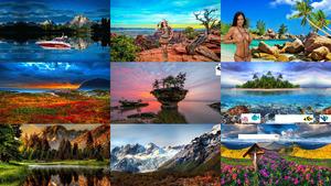 Traumhafte Landschaften