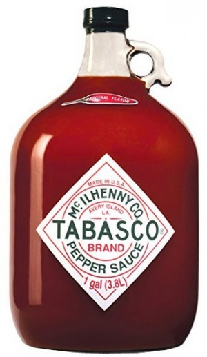 3,78 Liter Tabasco Pepper Sauce!