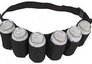 6-Pack Bier-Gürtel!
