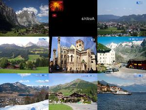 Europe - Die Alpen und Nachbarschaften und Lieder