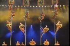 Tolle Darbietung im Zirkus