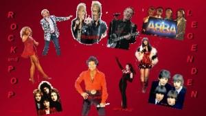 Jukebox Rock und Pop Legenden