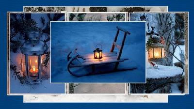 Couleurs d' hiver - Winterfarben ... nicht blättern
