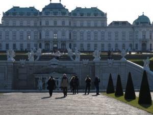 Das Belvedere - Wien