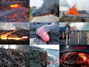 Hawai -Vulkanausbruch