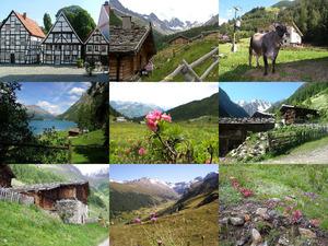 Ötztaler Alpen, Schnals, Südtirol, Italien