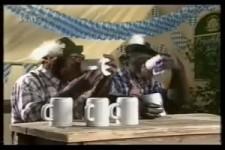 Affen und Bier