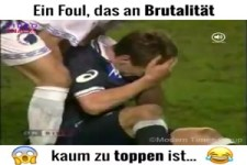 Das brutale Foul