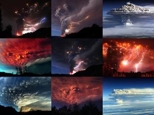 Geniale Aufnahmen des Puyehue - Vulkan in Chile