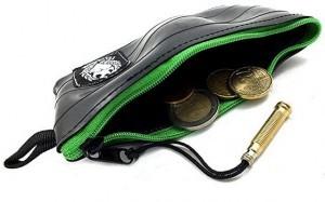 Kleiner Geldbeutel aus recyceltem Fahrradschlauch!