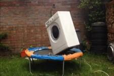 lustige Waschmaschine