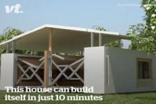 Selbstaufbauendes Haus