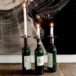 Kerzenständer für Flaschen!
