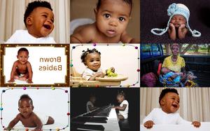 Brown Babies - Braune Babys