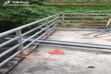 Irrtum beim Bau eines Geländers