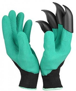 Garten-Handschuhe mit Fingerspitzen-Klauen!