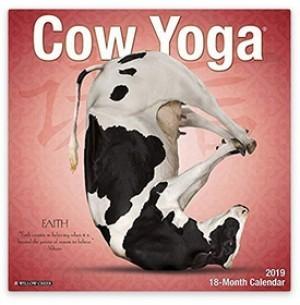 Wandkalender Cow Yoga 2019!