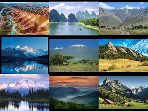 Berge aus aller Welt 2