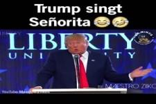 Trump singt