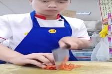 Menschen China Zusammenstellung Schneiden Kunst 1