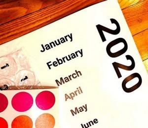 Luftpolster-Folien-Kalender für 2020!