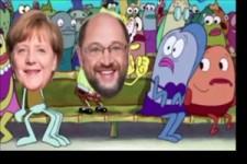 Deutsche Politik dargestellt durch Spongebob