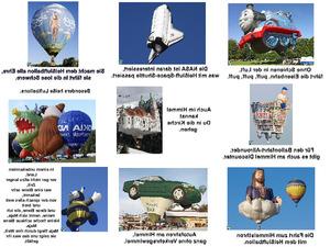 Besonders heiße Luftballons