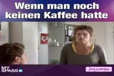Anke Engelke als Morgenmuffel
