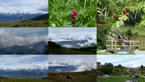 Les Chottes - Ein Tal in der Schweiz
