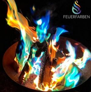 Feuerfarben-Pulver für buntes Feuer!