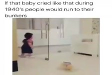Schreiendes Kind