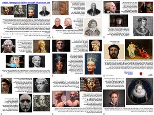 Wie historische Figuren wirklich ausgesehen haben