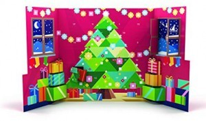 RITTER SPORT Pop-Up Adventskalender!