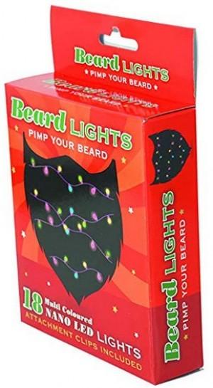 mehrfarbige Nano-LED-Bartlichterkette!