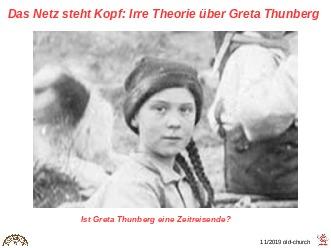 Irre Theorie über Greta
