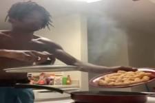 Ein Meister im Kochen