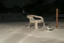 Ziemlich viel Schnee