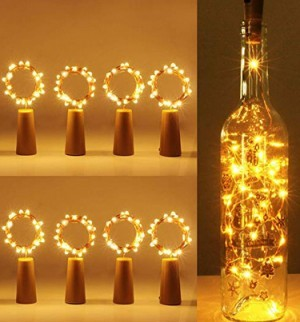 Romantisches Flaschenlicht!