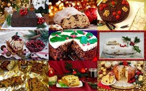 Christmas Fruitcakes - Weihnachtsfruchtkuchen
