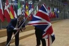 Weg mit der Fahne