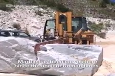 Marmor Berge in Italien