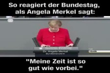 Die Rede von Frau Dr. Merkel im Bundestag