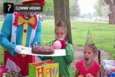 Pleiten bei der Geburtstagsparty
