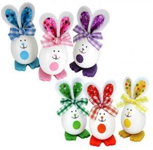 Lustige Ostereier-Hasen!