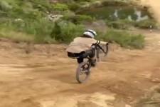 Gar nicht schlecht dieser Biker