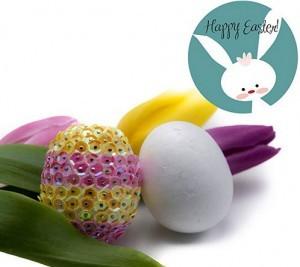 Eier aus Styropor zum Bestücken mit schönen...